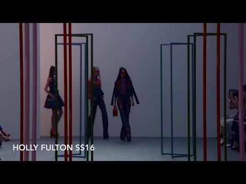 Holly Fulton SS16 at London Fashion Week