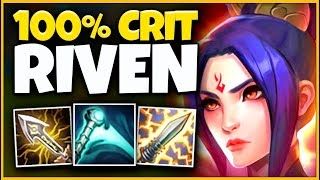 *HUGE BUFFS* RIOT ACTUALLY DID THIS TO RIVEN (100% NOT FAIR) - League of Legends