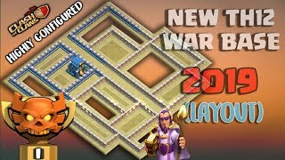 NEW HIGHLY CONFIGURED TH 12 WAR BASE (LayOut) 2019   TH 12 Best War Base 2019   Anti 2 Star :: Coc