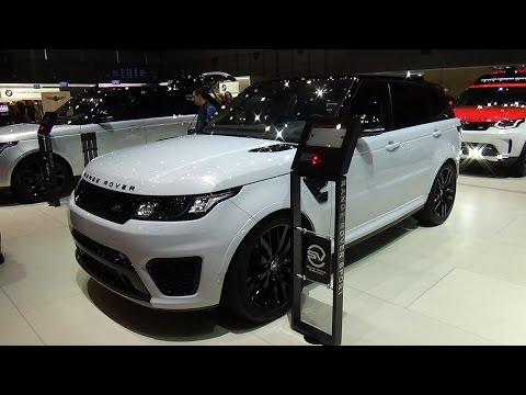 2018 Range Rover Sport SVR - Exterior and Interior - Geneva Motor Show 2017
