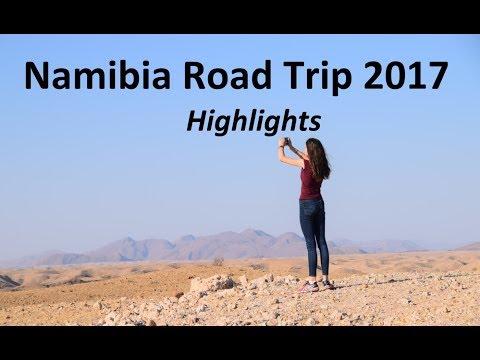 Namibia Road Trip 2017 Highlights