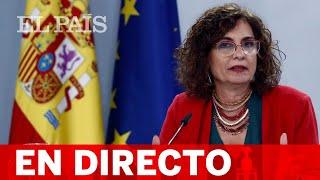 DIRECTO #PRESUPUESTOS | MONTERO comparece tras el CONSEJO DE MINISTROS