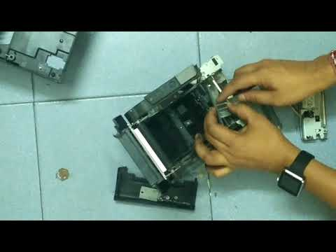 How to change epson tm t88iv printer head and cutter