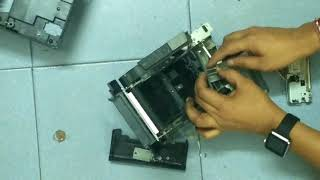 How to change epson tm t88iv printer head and cutter tutorial Step by Step