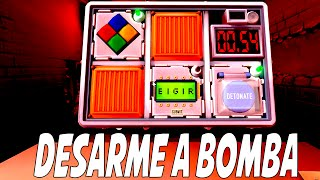DESARME A BOMBA! - KEEP TALKING AND NOBODY EXPLODES
