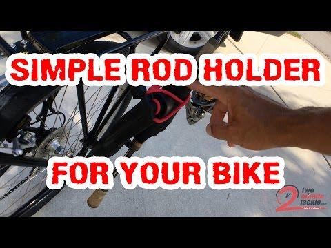 How To Mount Fishing Rod Holder To Bike Rack