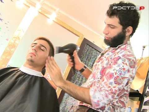 Араик делает мужские стрижки