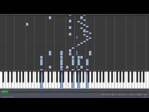 The Typewriter - Leroy Anderson [Piano Tutorial] (Synthesia)