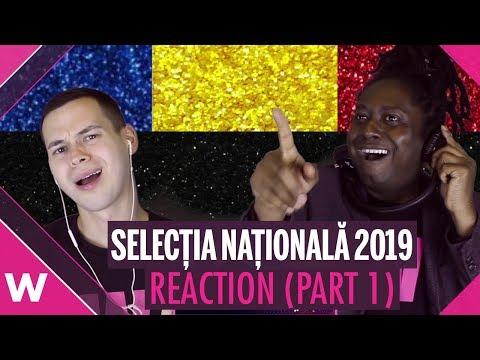 Selecția Națională 2019 (Romania Eurovision) - 23 songs (REACTION) | wiwibloggs