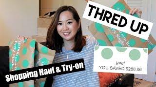 ThredUp Shopping Haul & Try-on | September 2018