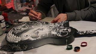 Joe Fenton custom painted  PRS Guitar for Rock Guitarist Mark Tremonti - 2014