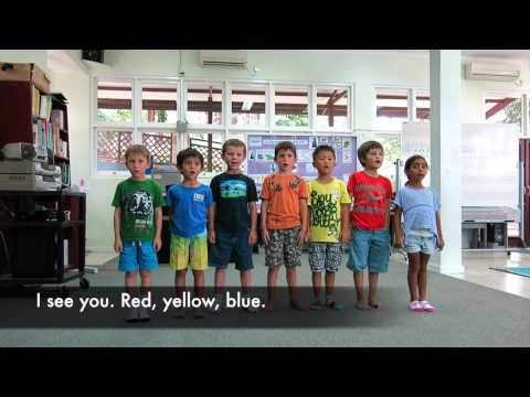The Primary Colors Song