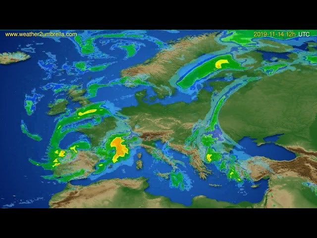 <span class='as_h2'><a href='https://webtv.eklogika.gr/radar-forecast-europe-modelrun-00h-utc-2019-11-14' target='_blank' title='Radar forecast Europe // modelrun: 00h UTC 2019-11-14'>Radar forecast Europe // modelrun: 00h UTC 2019-11-14</a></span>