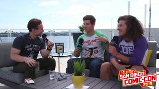 Adam Devine & Blake Anderson talk to Collider about The Freak Brothers new show! 2019 SDCC