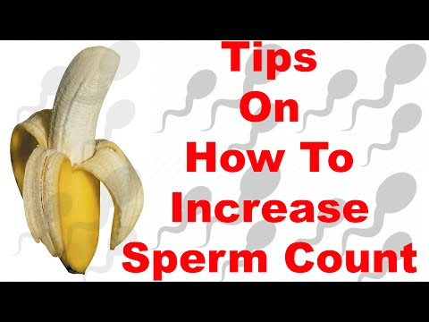 Tips On How To Increase Sperm Count