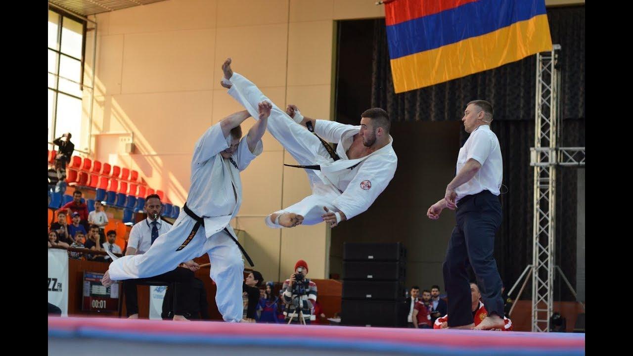Kyokushin Karate European Championship 2018 in Armenia / Чемпионат Европы по Киокушин карате 2018