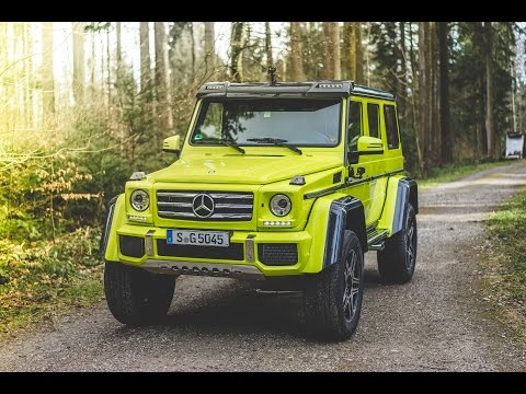 Collecting A Mercedes 4x4 Squared!