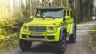 collecting a mercedes 4x4 squared