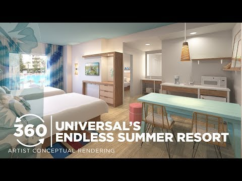 360 VIDEO: Universal's Endless Summer Resort