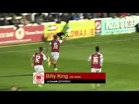 Goal: Billy King (vs Dundalk 22/10/2021)