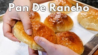 PAN DE RANCHO MEXICAN STYLE SOFT DINNER ROLLS