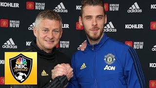 David de Gea inks new Manchester United contract | Premier League | NBC Sports