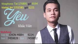 Yêu - Khắc Việt - MV Fanmade