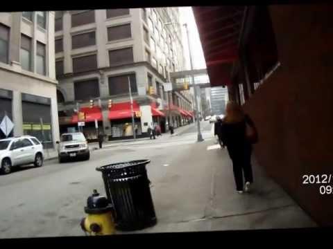 Walking thru Downtown Pittsburgh, 2012 11 07 0830, LibertyAv MarketSt to ForbesAv WmPennWay