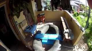 видео Как сделать надувную лодку