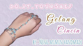 DIY GELANG CINCIN FASHION IMPORT | DIY BRACELET RING | #DIYNM