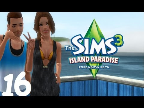 Let's Play: The Sims 3 Island Paradise - (Part 16) - Diving Jobs