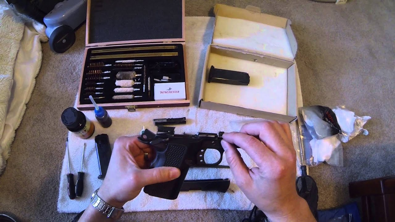 American Tactical Fx45 Fatboy Lightweight Cleaning Instructions