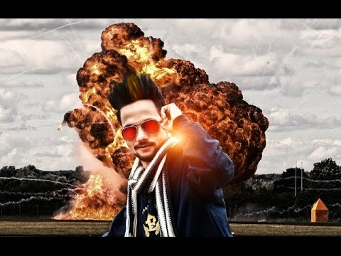 Photoshop Explosion Fire Manipulation Tutorial | Photo Effects