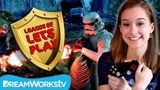 Star Wars Battle Front Survival Mode on Endor with The Happy Family Show | LEAGUE OF LET'S PLAY