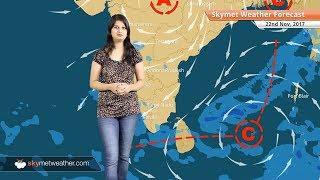 Weather Forecast for Nov 22: Rain in Chennai, Tamil Nadu, Kerala, Karnataka, Goa