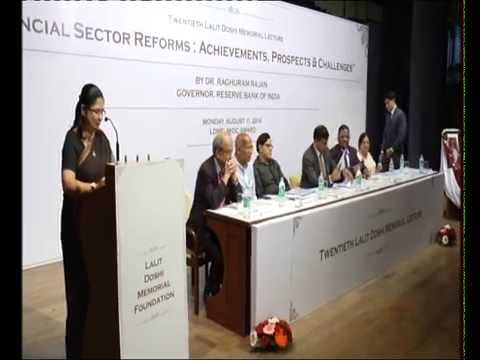 Finance and Opportunity in India - Dr. Raghuram G. Rajan (Part 2