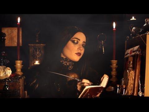 ASMR Nightshade Witch (Crackling Fire, Soft Spoken, Snarky)