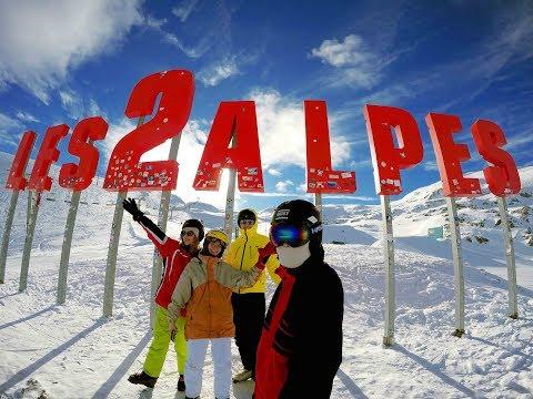 SKI TRIP 2018 - Les2Alpes Travel Video France