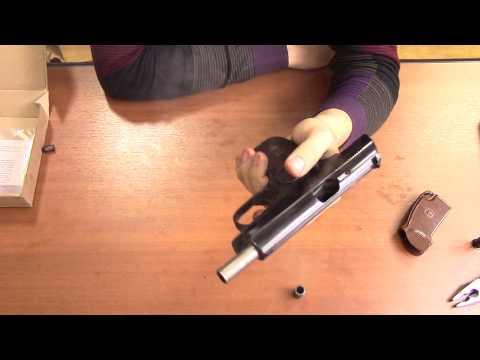 Сигнальный пистолет Макарова МР 371 03 с автоматикой и бородой