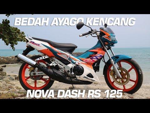 BEDAH HONDA NOVA DASH RS 125 #Motovlog Indonesia
