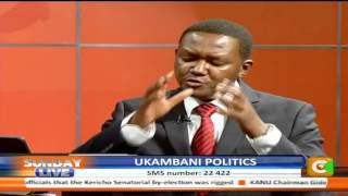 Sunday Live Interview with Machakos Governor Alfred Mutua