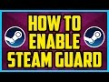 How To Enable Steam Guard WORKING 2018 - Enabling The Steam Guard Tutorial