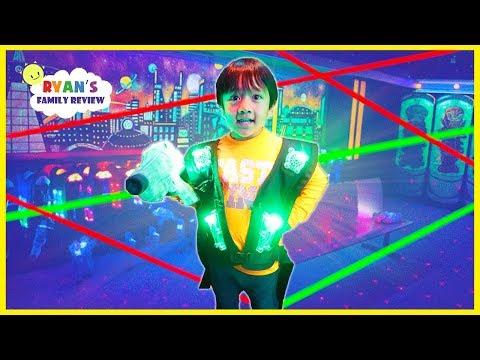 Ryan's first Laser Tag War!