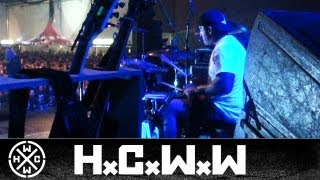 BIOHAZARD - WRONG SIDE OF THE TRACKS - DRUM CAM - PERISTENCE TOUR 2009 (OFFICIAL HD VERSION)
