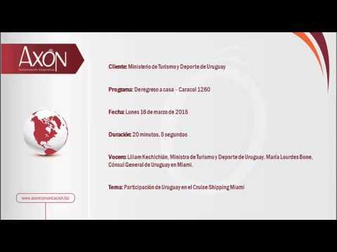 Uruguay: Entrevista en Caracol 1260 Miami