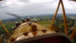 1930 Waco Taperwing Flight