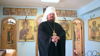 Слово митрополита Ферапонта в храме Первомайского психоневрологического интерната