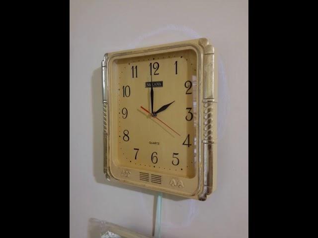 Jam dinding melody 12 macam Sakana