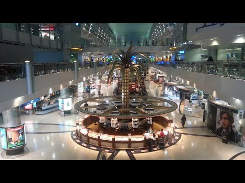 Dubai Airport Terminal 3, The largest terminal in the world.
