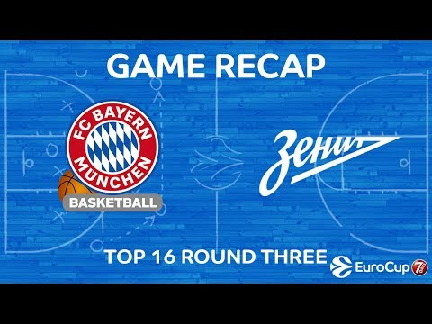 Highlights: FC Bayern Munich - Zenit St Petersburg